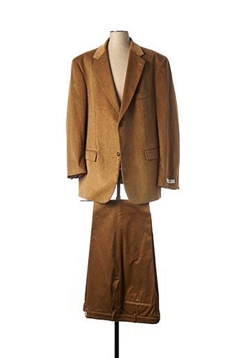Costume de ville marron M.E.N.S pour homme