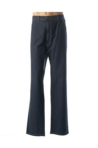 Jeans coupe droite bleu M.E.N.S pour homme