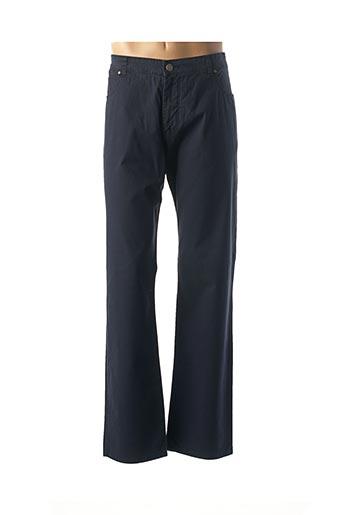 Pantalon casual bleu FYNCH-HATTON pour homme