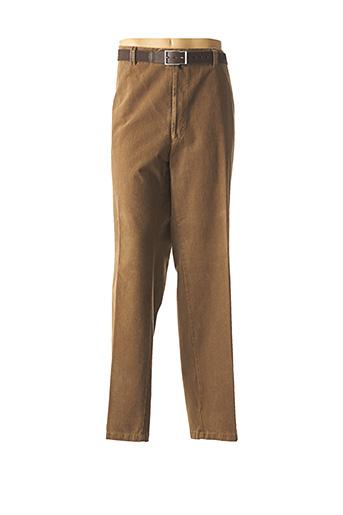 Pantalon chic beige M.E.N.S pour homme