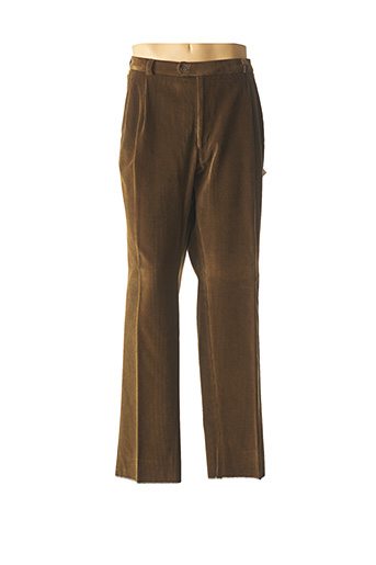 Pantalon chic vert BRUNO SAINT HILAIRE pour homme