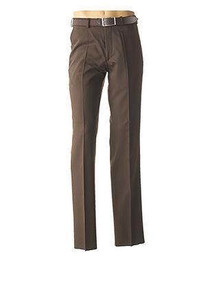Pantalon chic marron M.E.N.S pour homme
