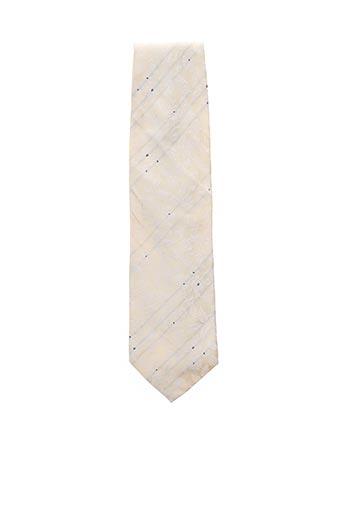 Cravate beige COULEURS DU SUD pour homme