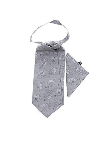 Cravate gris TOUCHE FINALE pour homme