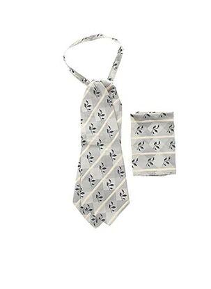 Cravate gris GUY LAURENT pour homme