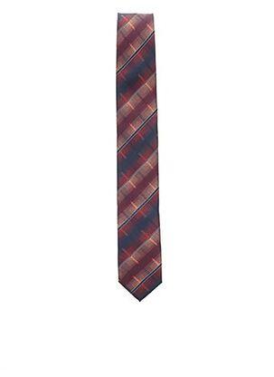 Cravate rouge TOUCHE FINALE pour homme
