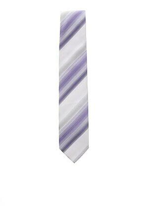Cravate violet OLYMP pour homme