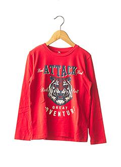 T-shirt manches longues rouge NAME IT pour garçon
