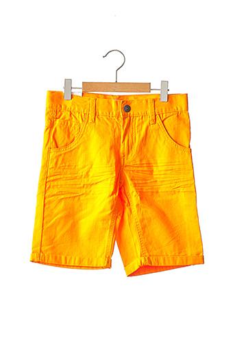 Bermuda orange NAME IT pour garçon