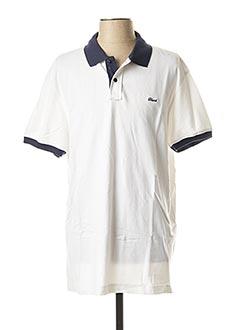 Polo manches courtes blanc BLEND pour homme