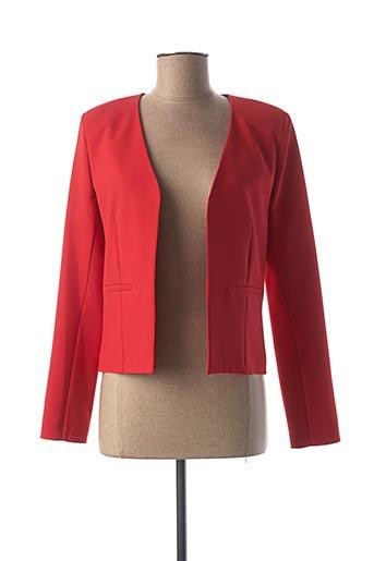 Veste chic / Blazer rouge HIPPOCAMPE pour femme