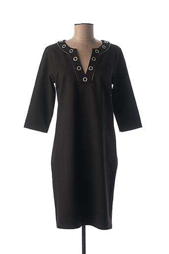 Robe mi-longue noir JULIE GUERLANDE pour femme
