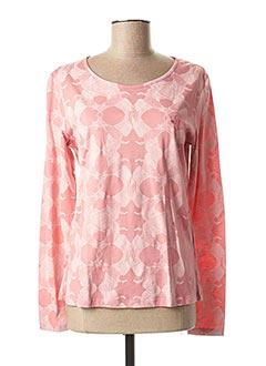 T-shirt manches longues rose LE PETIT BAIGNEUR pour femme