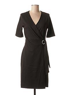 Robe mi-longue noir B.YOUNG pour femme