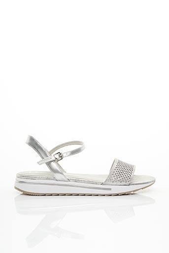 Sandales/Nu pieds gris MARCO TOZZI pour femme