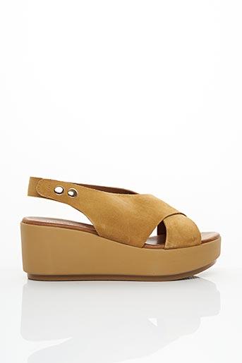 Sandales/Nu pieds marron INUOVO pour femme