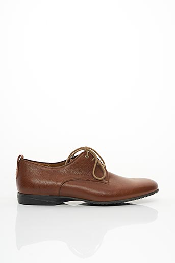 Derbies marron PERTINI pour homme