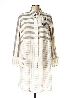 Robe mi-longue blanc ALAIN MURATI pour femme