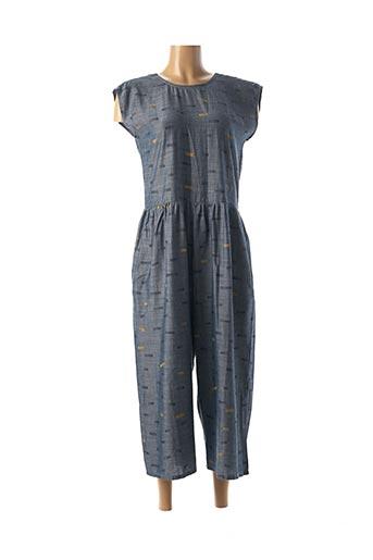Combi-pantalon bleu SKFK pour femme