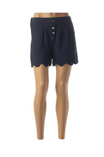 Short bleu CHARMING GIRL pour femme