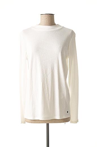 T-shirt manches longues blanc CECIL pour femme