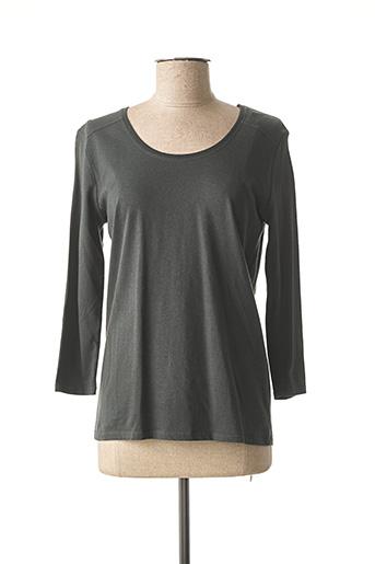 T-shirt manches longues vert BREIZH ANGEL pour femme
