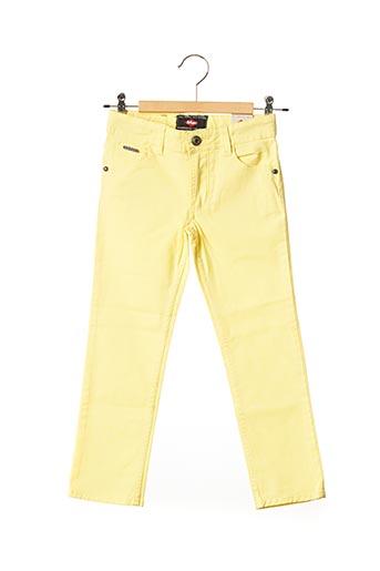 Jeans coupe droite jaune LEE COOPER pour fille