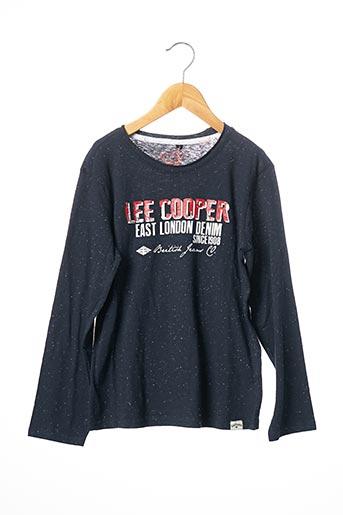 T-shirt manches longues bleu LEE COOPER pour fille