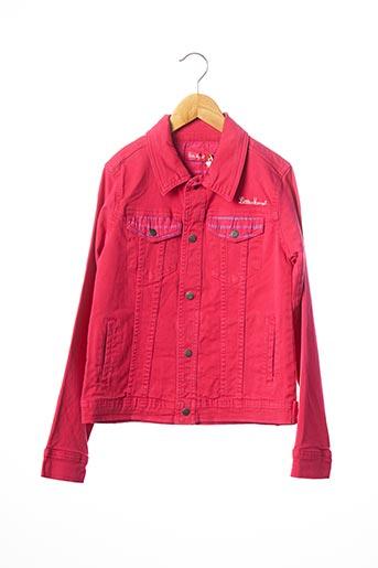 Veste en jean rose LITTLE MARCEL pour fille