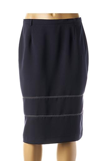 Jupe mi-longue bleu COSTURA 40 pour femme