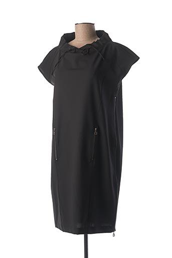 Robe mi-longue noir SARAH PACINI pour femme