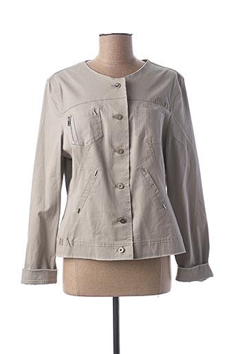Veste casual gris EVA KAYAN pour femme