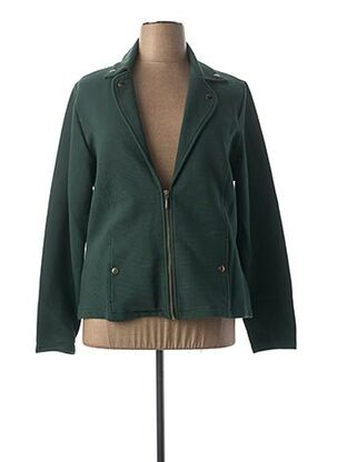 Veste casual vert BRANDTEX pour femme
