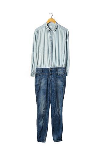 Combi-pantalon bleu CLOSED pour femme