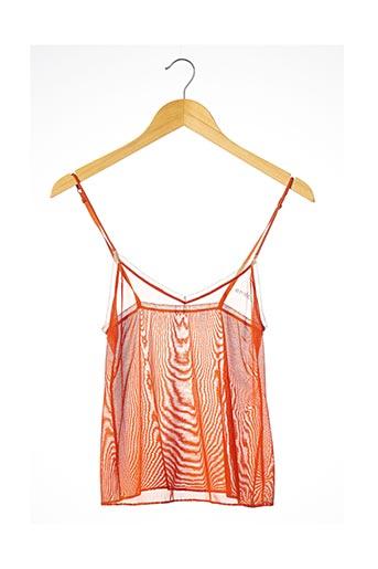 Top/Caraco orange SONIA RYKIEL pour femme