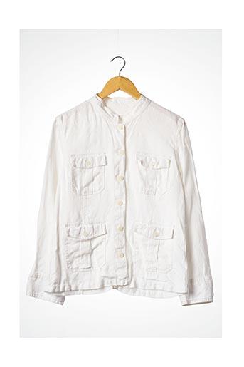 Veste casual blanc BLANC BLEU pour femme