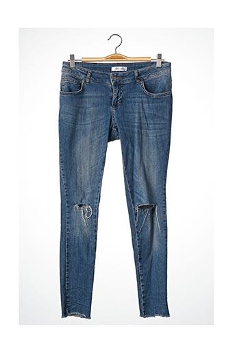 Pantalon 7/8 bleu ANINE BING pour femme