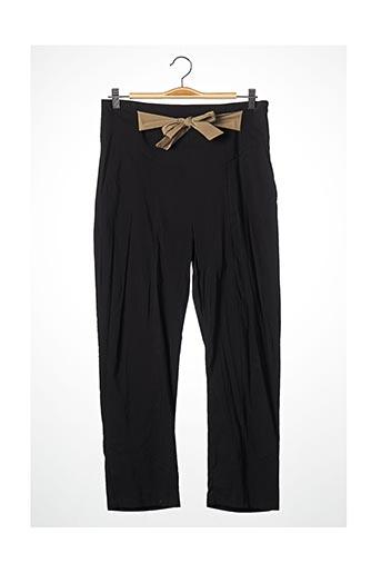 Pantalon chic noir BLEU BLANC ROUGE pour femme