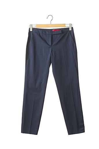 Pantalon chic bleu HUGO BOSS pour femme