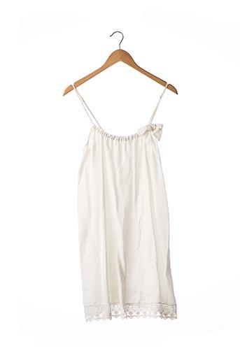 Robe mi-longue blanc SANS MARQUE pour femme