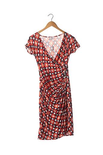 Robe mi-longue rouge EGERIE pour femme