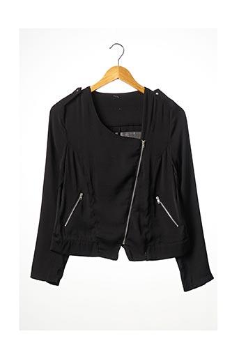 Veste casual noir SANS MARQUE pour femme