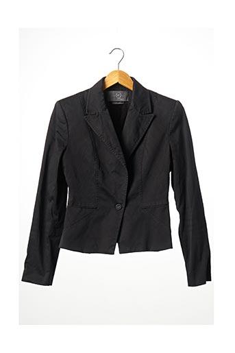 Veste chic / Blazer noir ALEXANDER MCQUEEN pour femme