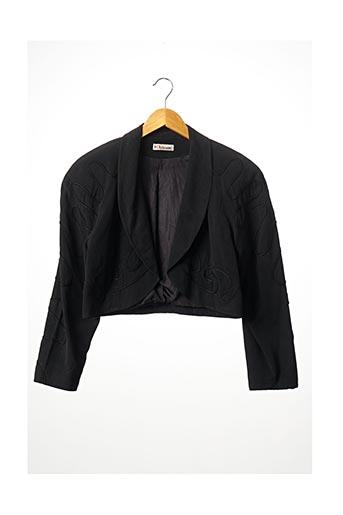 Veste chic / Blazer noir KARL LAGERFELD pour femme