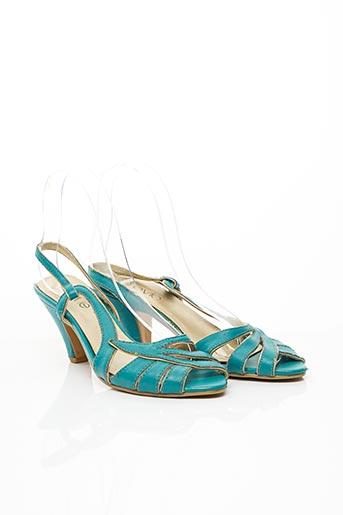 Sandales/Nu pieds bleu E.VIE pour femme