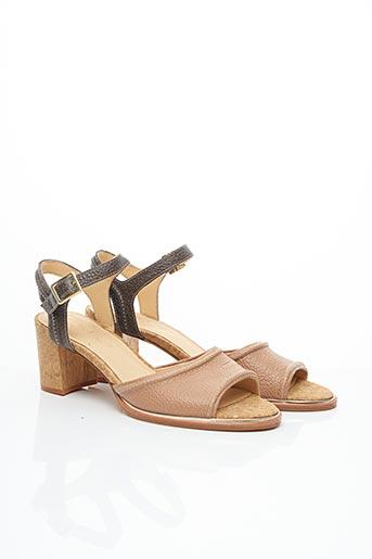 Sandales/Nu pieds rose CLARKS pour femme