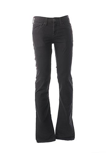 Jeans coupe slim gris LEE COOPER pour homme