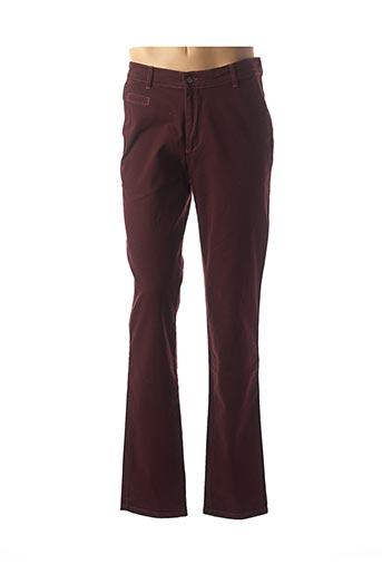 Pantalon chic rouge GS CLUB pour homme