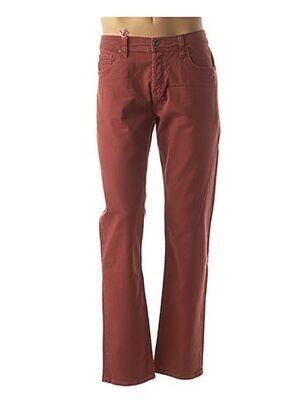 Jeans coupe droite orange LEE COOPER pour homme