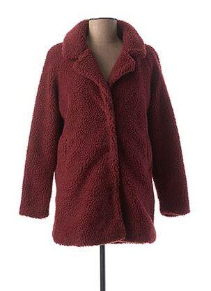 Manteau long rouge ONLY pour fille